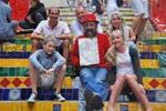 Guide-Madson,-le-paintre-Selaron,-et-Dominique-et-sa-famille-a-Rio