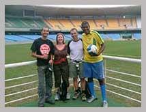 Visite guidée en français de le stade de foot Maracanã