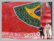 Visite guidée de l'escalier Selaron Lapa Rio de Janeiro