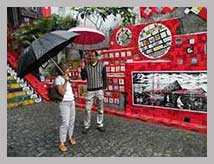 Visite de l'escalier à Rio de Janeiro - visite guidée en français