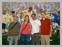 Visite guidée stade de foot Maracana à Rio de Janeiro.