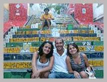 Visite français centre historique de Rio de Janeiro